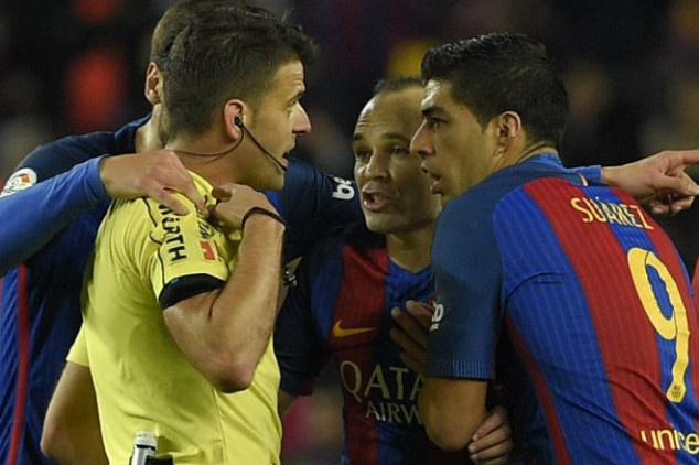 Suárez officially OUT of Copa del Rey final