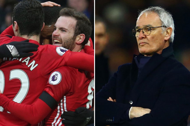STATS: Man Utd, Leicester set EPL records
