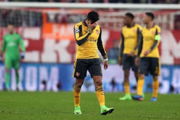 Arsenal trolled after Bayern's draw with Hertha