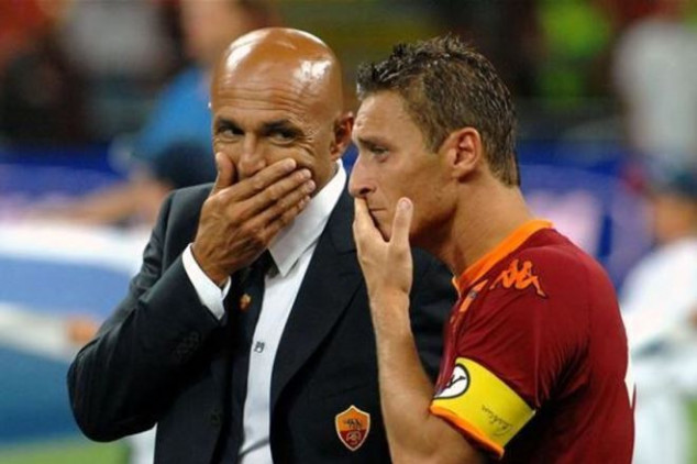 Spalletti wants Totti to stay at Roma