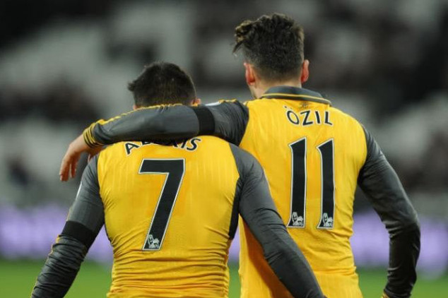 Arsenal expect to lose both Alexis and Ozil