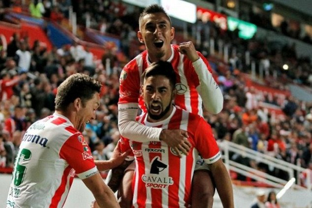 Necaxa's lineup to play Sounders confirmed