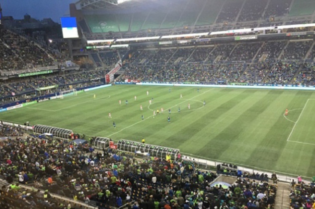 Sounders vs Mexico draws huge crowds