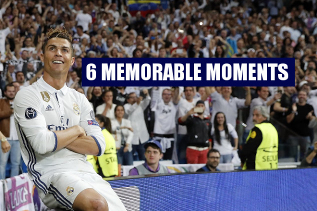 Most memorable 2016/17 UCL moments