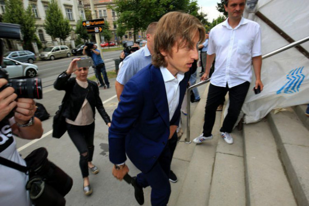 Modric investigated for perjury