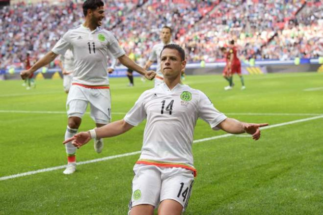 Chicharito confident about Mexico's chances