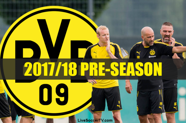 What is BVB's pre-season schedule?