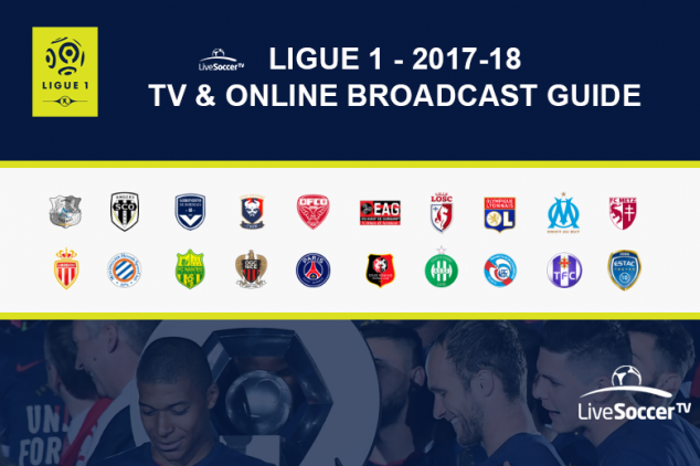 2017/2018 Ligue 1 broadcast guide