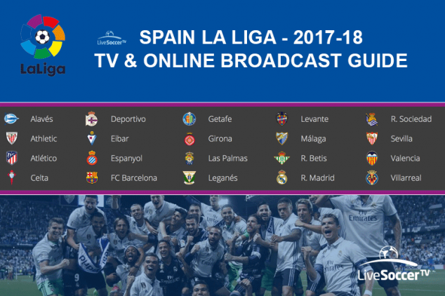 La Liga global broadcast guide