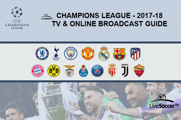 Champions League broadcast guide