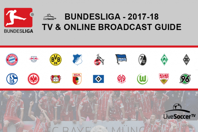 2017/2018 Bundesliga broadcast guide
