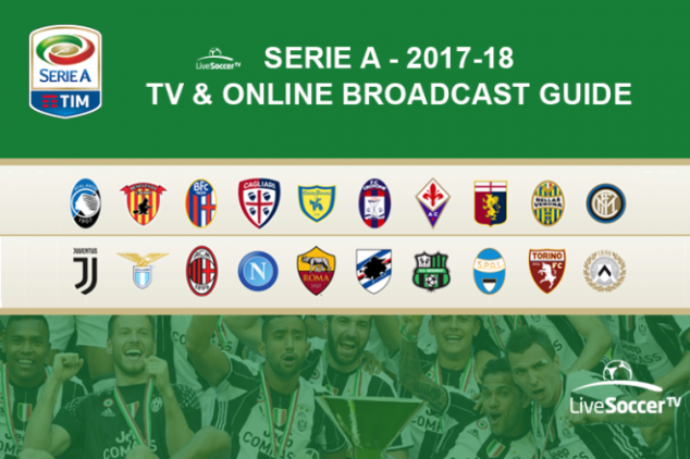 2017/2018 Serie A broadcast guide