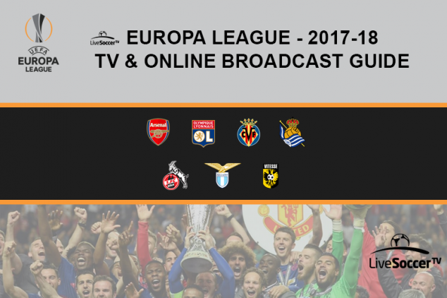 2017/18 Europa League broadcast guide
