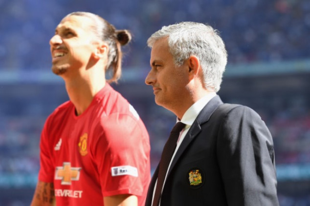 Zlatan will return to Man UTD in January
