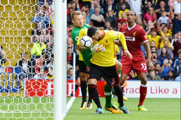 Liverpool mocked after 3-3 Watford draw