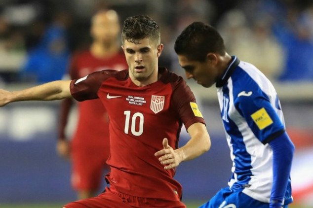 What does the USMNT's record at Honduras say