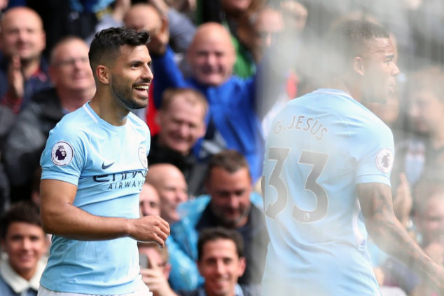 Aguero sets EPL record