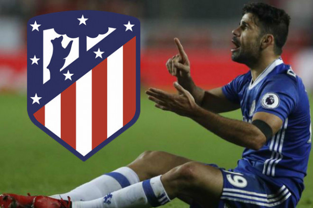 Costa will re-join Atlético Madrid in January