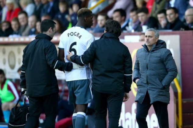 Mourinho unsure about Pogba's return date