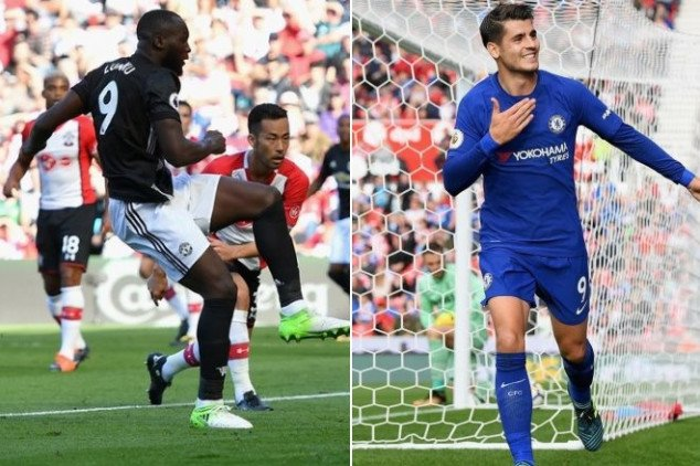 Lukaku & Morata set the pace w/ goal scoring feats