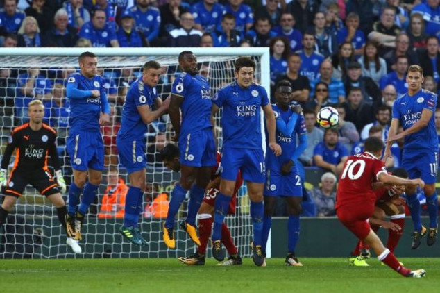 Coutinho leads Liverpool to win vs Leicester