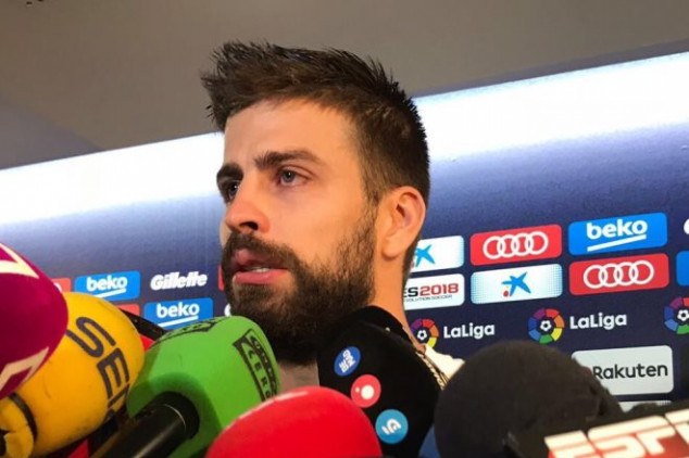 Watch: Pique cries in presser after incidents