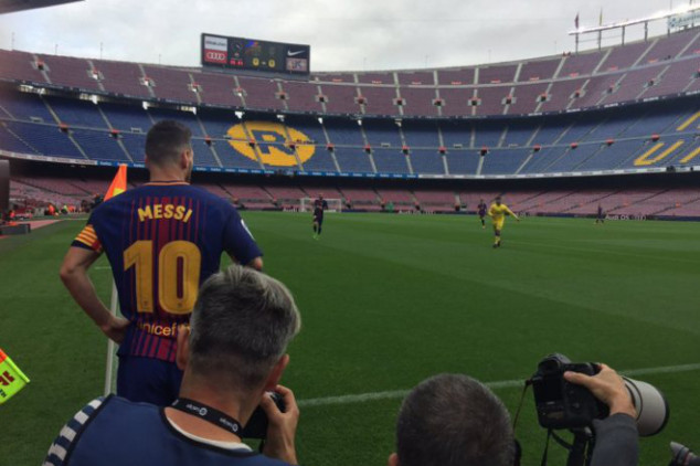 Dressing-room meeting decided Barca v Las Palmas