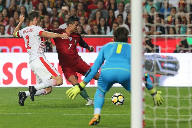 CR7 keeps flawless record with Portugal