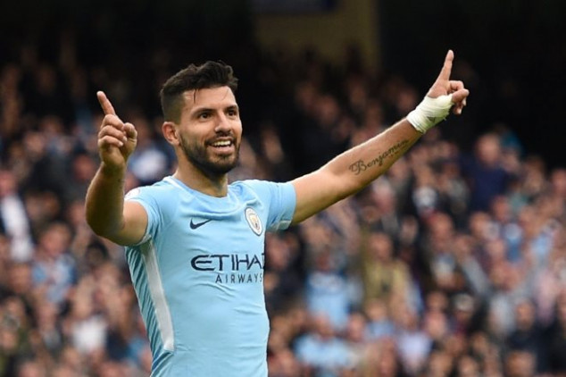 Aguero makes history with goal vs Burnley