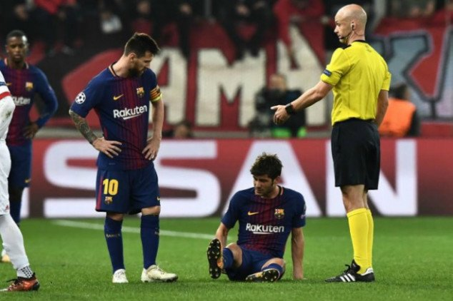 Barcelona's injury list grows after UCL draw