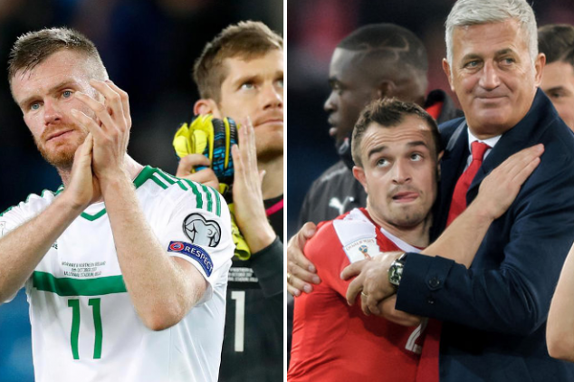 The records at stake in N. Ireland vs Switzerland