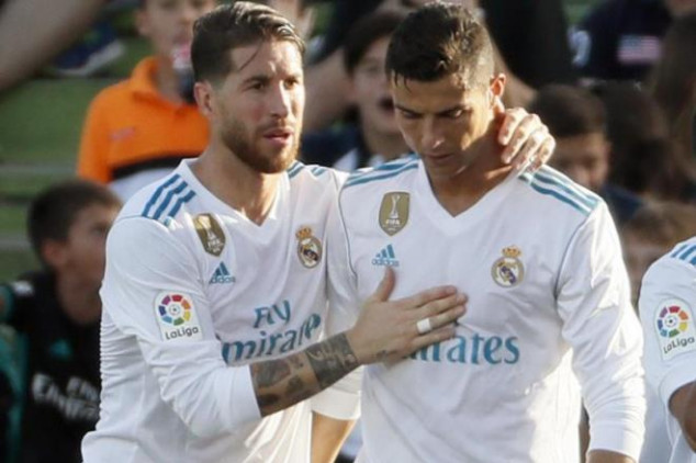 Ramos disagrees with CR7's opinion