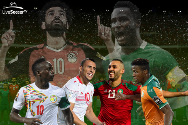 Who'll join Egypt and Nigeria at WC 2018?