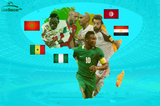 Facts & Stats - WC 2018's 5 African nations
