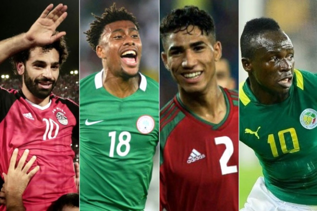 10 African stars to look out for at WC 2018