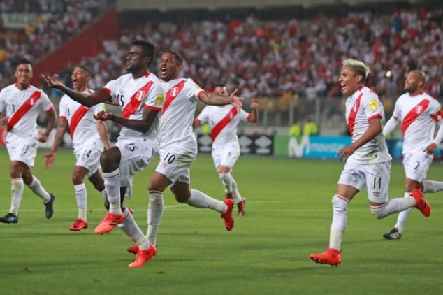 Peruvian fans go nuts after WCQ victory