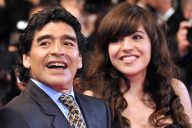 Maradona wants to send daughter to jail