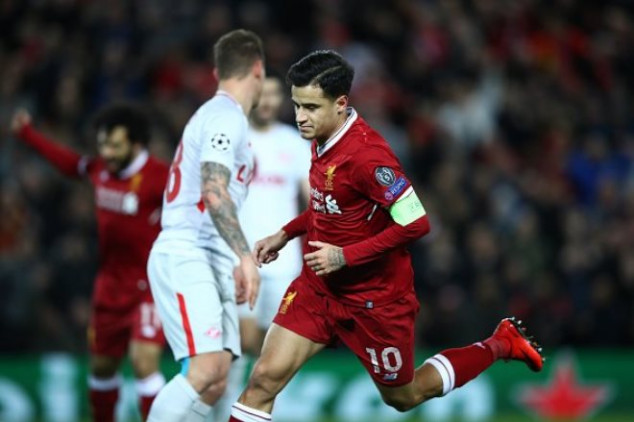 Coutinho scores 1st-ever hat-trick for Liverpool
