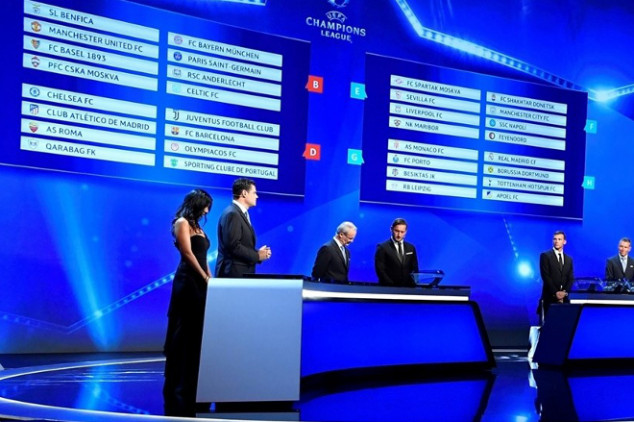 Where to watch UCL, UEL draws
