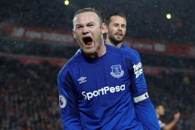 Rooney saves point for Everton in Merseyside derby