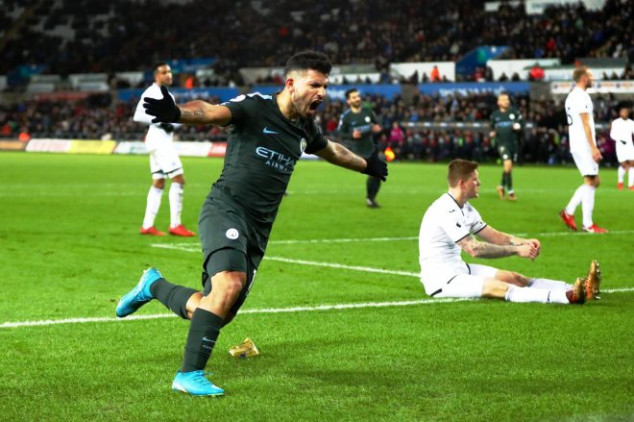 Man City & Pep make history with win vs Swansea