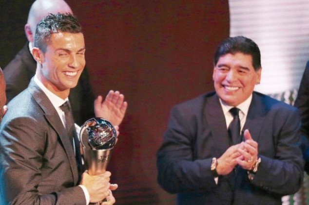 Maradona disagrees with CR7's 'best ever' quote
