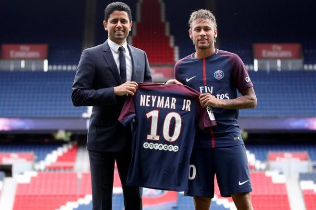 Real Madrid's hopes of landing Neymar over