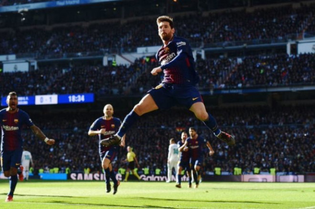 Messi sets more records against Real Madrid
