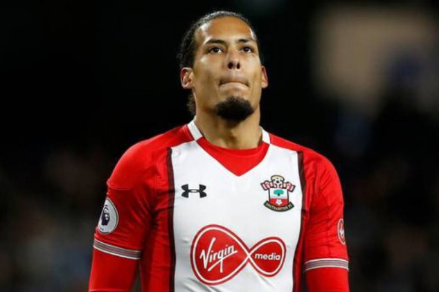 Van Dijk will join Liverpool in January