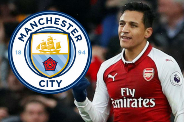 Man City aim to sign Alexis during winter window