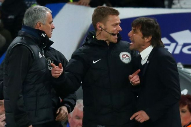 Conte hits back at Mou over match-fixing quote