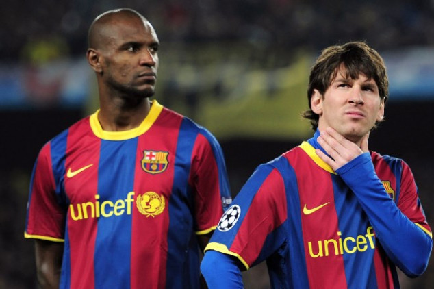 Abidal retracts from quotes about Messi