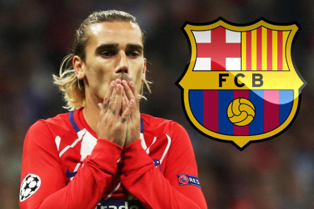 Barca release statement about Griezmann