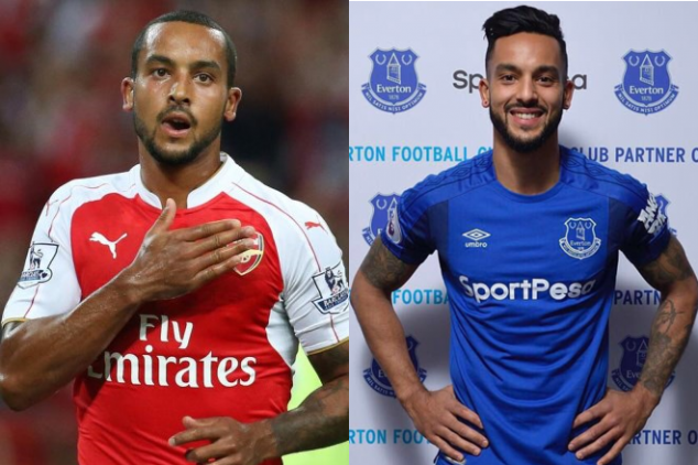 Walcott's first Emirates return since transfer